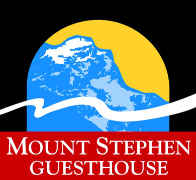 Mount Stephen Guesthouse.  Mountain accommodation in Yoho National Park, center of the Canadian Rockies